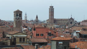 Roofs and domes of Venice Stock Photos