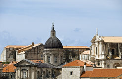 Roofs of Dubovnik Royalty Free Stock Image