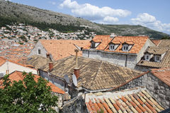 Roofs of Dubrovnic, Croatia Stock Photo