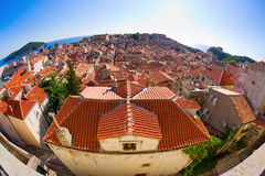 Roofs of Dubrovnik Stock Photo