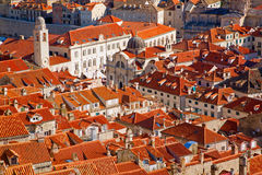 Roofs of Dubrovnik Stock Photography