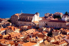 Roofs of Dubrovnik Stock Image