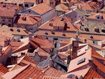 Roofs of Dubrovnik Royalty Free Stock Photo