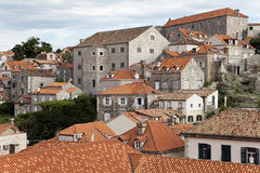 The roofs of Dubrovnik. Skyline view of the roofs of Dubrovnik Royalty Free Stock Image