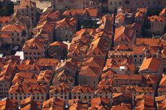 Roofs of Dubrovnik Royalty Free Stock Image