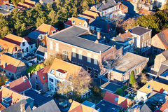 Roofs of Dutch houses Stock Photography
