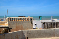 Roofs of Essaouira Royalty Free Stock Photo
