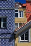 roofs fönster Arkivfoto