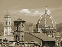 Roofs of Florence Stock Image