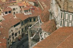 Roofs of Florence Stock Photos