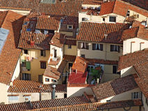 Roofs of Florence, Italy Royalty Free Stock Photo