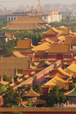 Roofs of the forbidden city Stock Photo