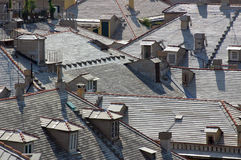Roofs in Genova Royalty Free Stock Photos