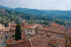 The roofs of Grasse Stock Image