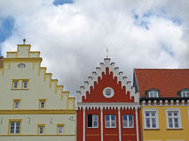 Roofs of Greifswald Royalty Free Stock Photos