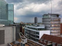 Roofs of Hamburg Royalty Free Stock Images
