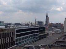 Roofs of Hamburg Stock Image