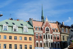 Roofs of historic buildings Stock Photos