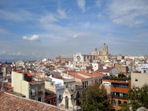 The roofs and homes. Tarragona, Spain Stock Photography