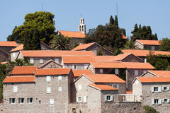 Roofs of Hotel St. Stefan. Stock Images