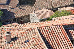Roofs of houses Royalty Free Stock Images
