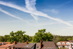 The Roofs Stock Photography