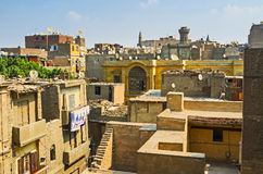 The roofs of Islamic Cairo Stock Photo