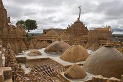 Roofs of Jaisalmer Stock Photo