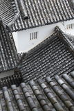 Roofs in Japan Royalty Free Stock Photo