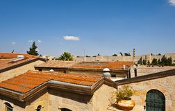 Roofs of Jerusalem Stock Photo