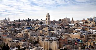 Roofs of Jerusalem Royalty Free Stock Image