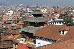 Roofs in Kathmandu Stock Image