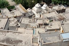 Roofs of Ladakh (India) Royalty Free Stock Image