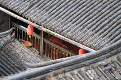 Roofs of lijiang old town, yunnan, china Royalty Free Stock Photos