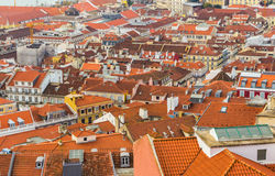 Roofs of Lisbon, Portugal Stock Photography