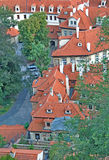 Roofs of the Little Quarter in Prague Royalty Free Stock Photo