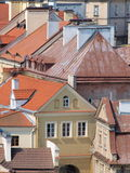 Roofs of Lublin, Poland Royalty Free Stock Photos
