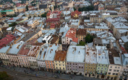 A roofs of Lviv Royalty Free Stock Photos