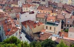 Roofs Marseille Lizenzfreie Stockfotos