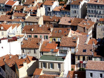 Roofs at Marseilles, France Stock Photo