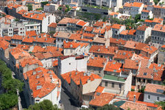 Roofs marselle Stock Photography