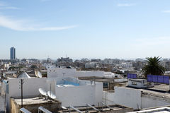 Roofs of Medina, Tunis stock images