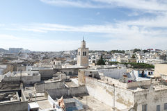 Roofs of Medina, Tunis Royalty Free Stock Images