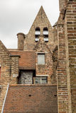 Roofs of The Memlingmuseum, Bruges, Belgium Stock Image