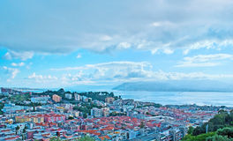 The roofs of Messina Royalty Free Stock Photo