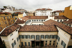 Roofs of Milan Royalty Free Stock Photos