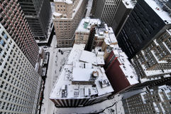 Roofs of New York Buildings Stock Photography