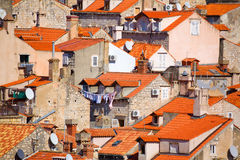 Roofs Of Dubrovnik Stock Photos