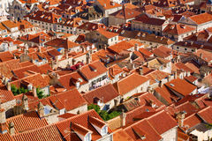Roofs Of Dubrovnik Royalty Free Stock Images