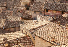 Roofs Of Houses. Urbino. Italy, Marche Royalty Free Stock Photography